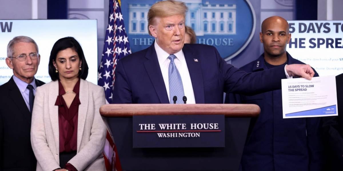 Trump: 'Podemos estar a caminho de uma recessão'