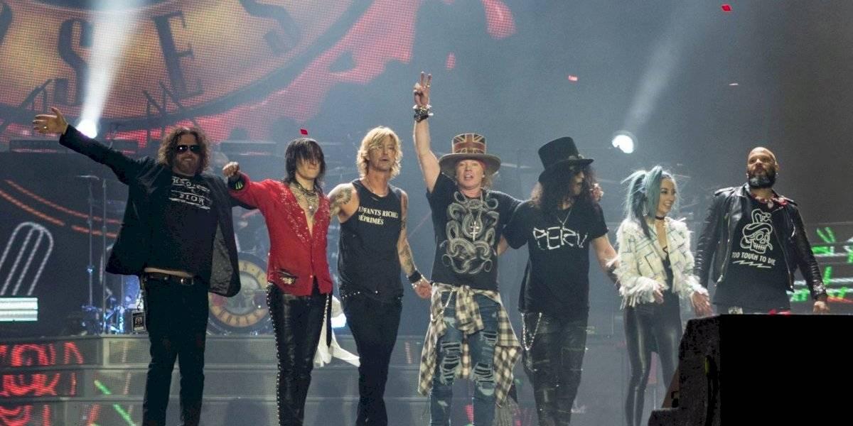 Guns N' Roses fueron obligados a cumplir contrato pese al coronavirus
