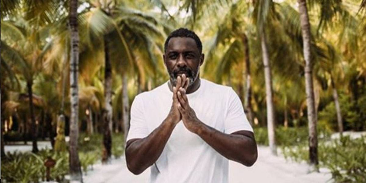 Ator britânico Idris Elba é mais uma celebridade com covid-19