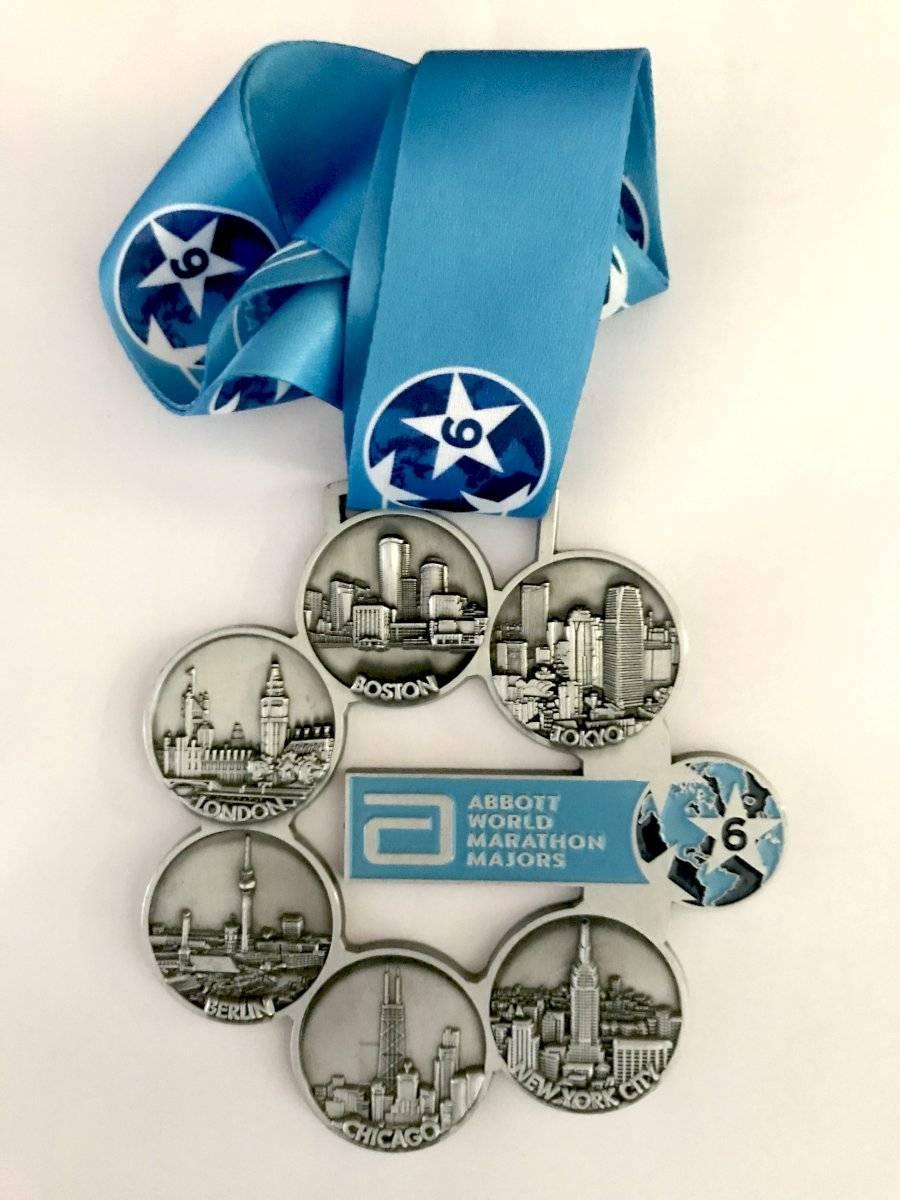 Medalha Six Majors Divulgação