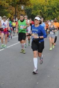 Sara Velloso em Nova York, em 2015