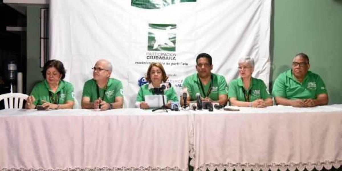 Participación Ciudadana dice proceso de escrutinio demasiado lento