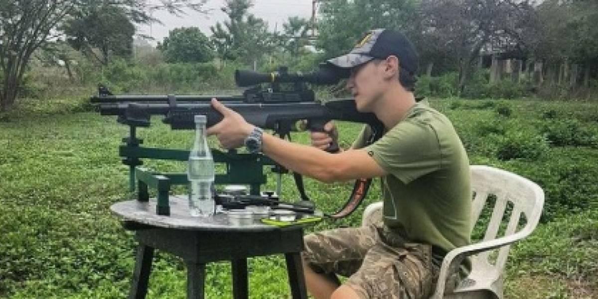 Ruso aficionado a los rifles capturado por herir en balacera a dos policías en Barranquilla