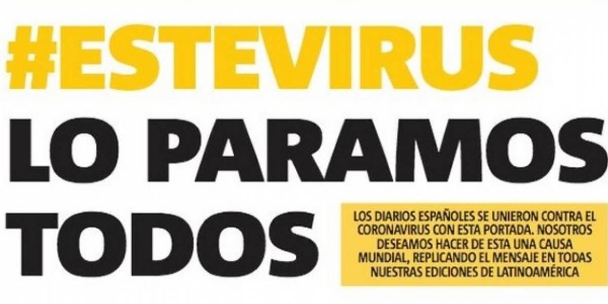 Metro Puerto Rico se une a iniciativa de diarios españoles #EsteVirusLoParamosUnidos