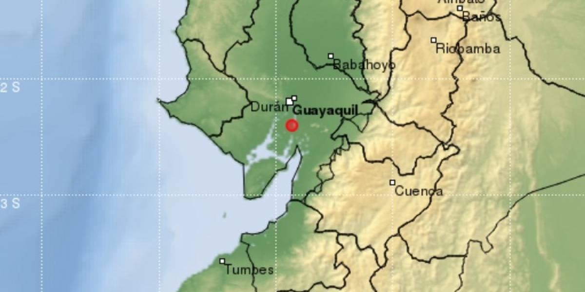 Se reporta un sismo de 3,5 en Guayas