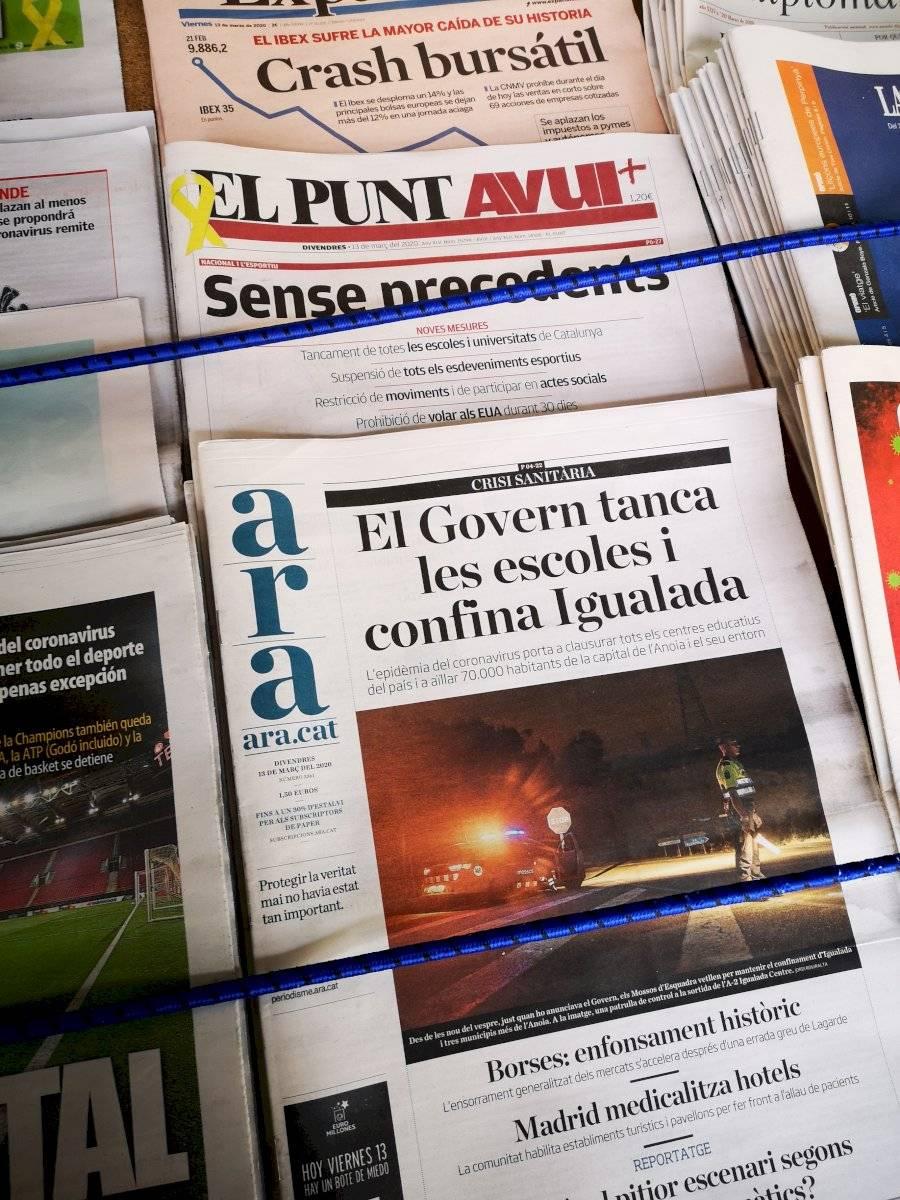 periódicos barcelona