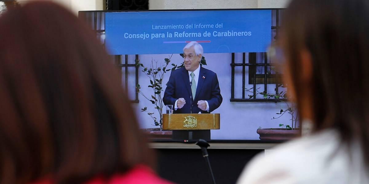 """""""No son de izquierda ni de derecha"""": la frases del Presidente Piñera que marcaron presentación de reforma a Carabineros"""