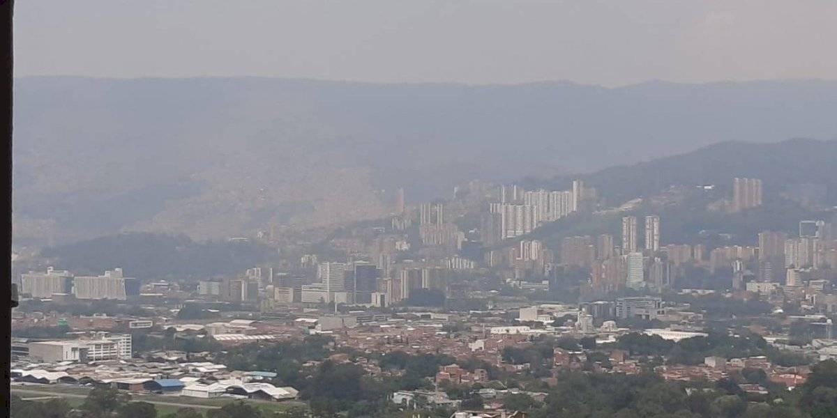 ¡Alerta! 11 estaciones de medición de la calidad del aire en Medellín están en rojo