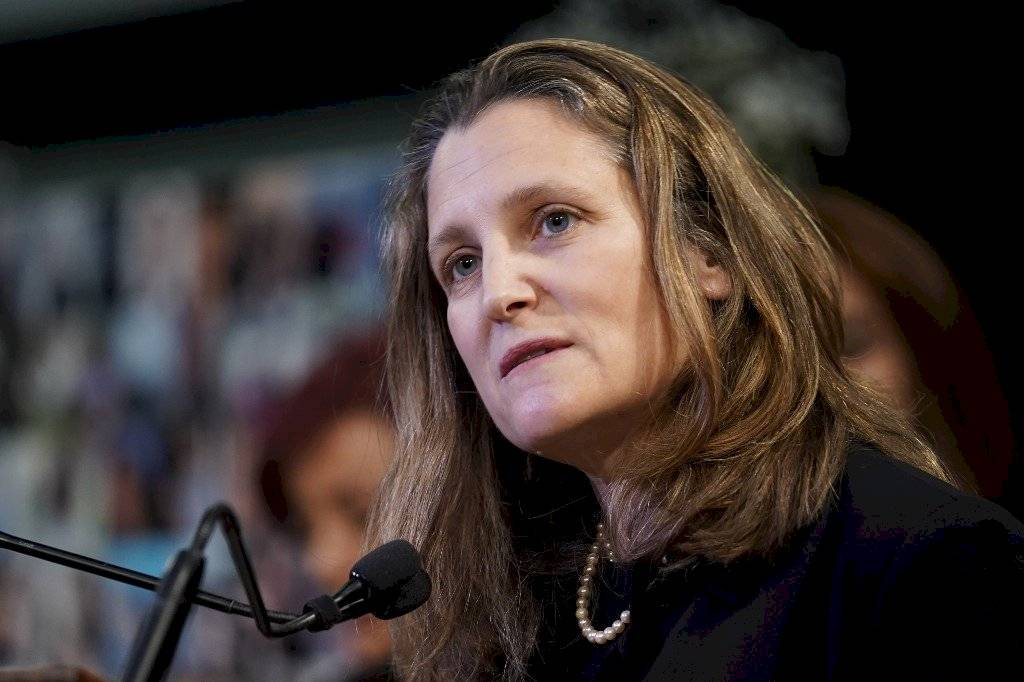 Chrystia Freeland, vice primera ministra canadiense