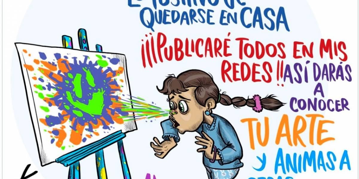 ¿Quieres ser el caricaturista de Publimetro este viernes? X-tian te cede su espacio con #MiDibujoDesdeCasa
