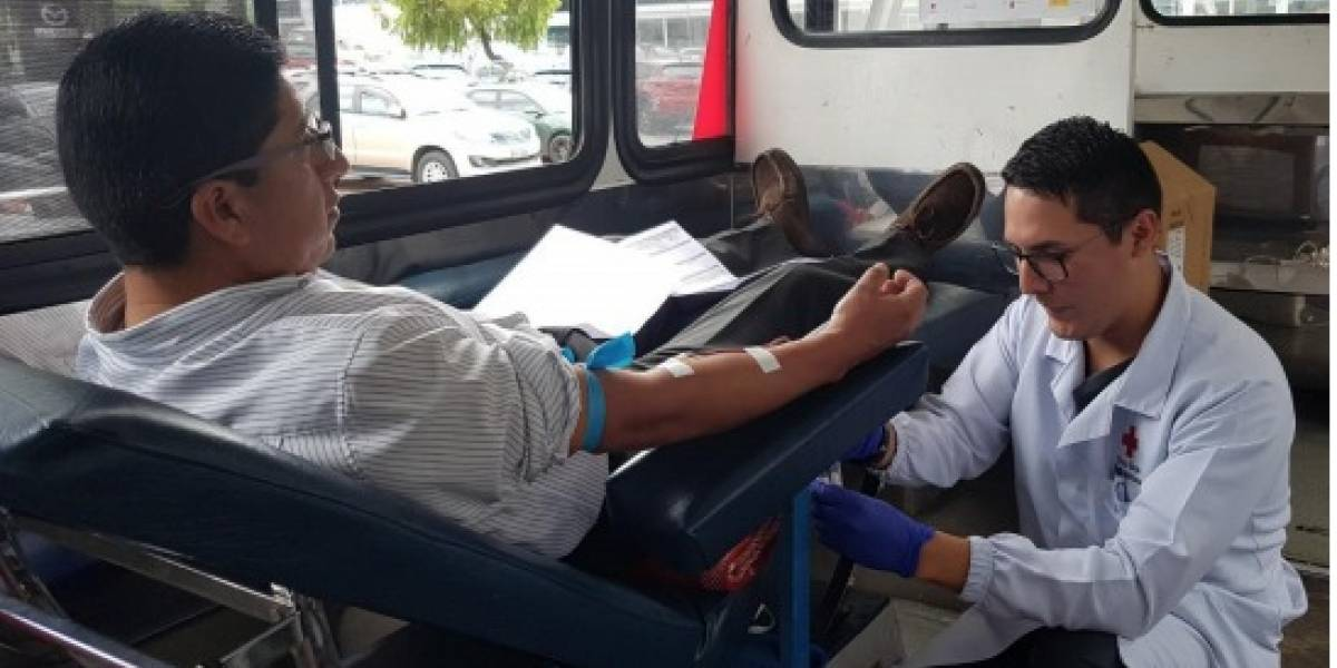 Cruz Roja: Alerta sobre desabastecimiento de sangre en Ecuador ¡Donaciones a domicilio!