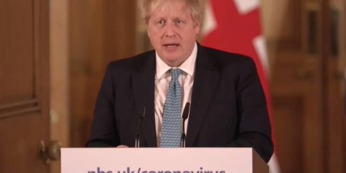 Boris Johnson, primer ministro británico, da positivo por coronavirus