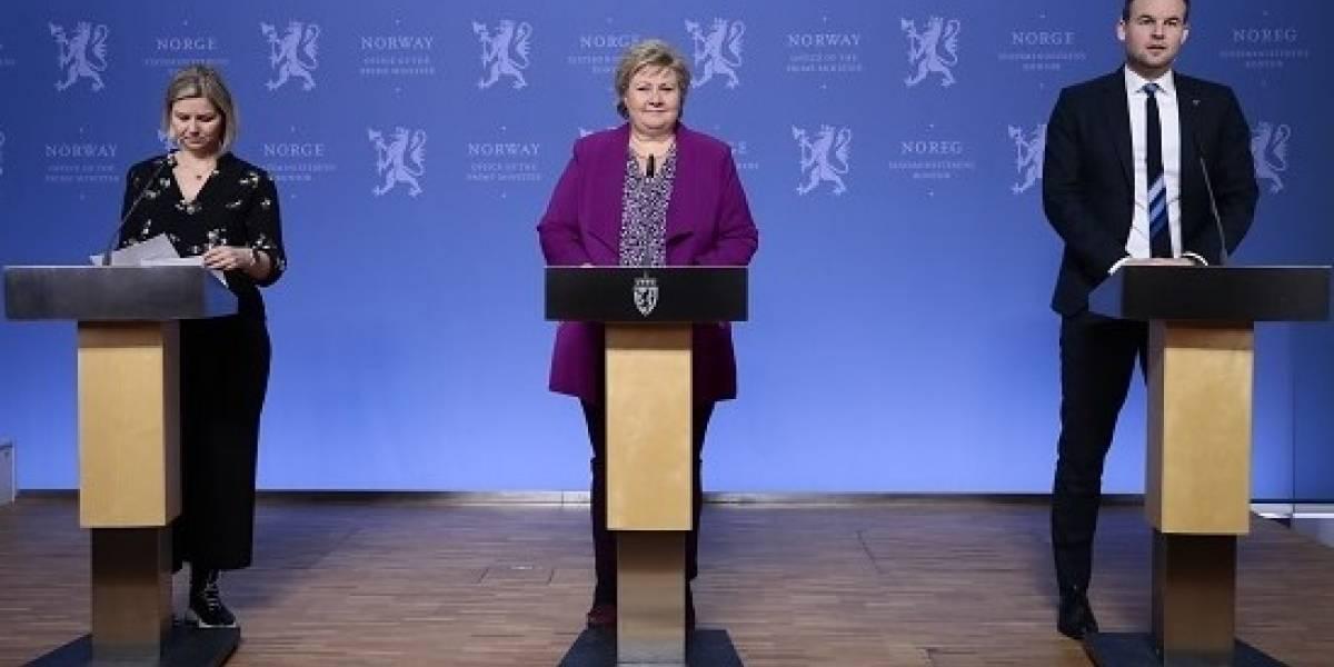 Erna Solberg, Primera Ministra de Noruega, resolvió las dudas de los niños sobre el covid-19