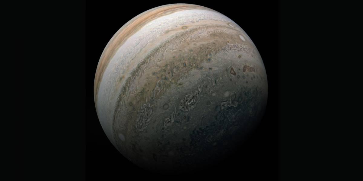 Missão da NASA capta impressionante registro do maior planeta do sistema solar