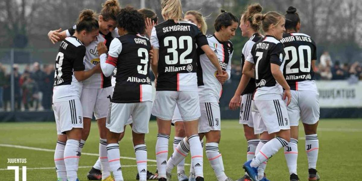 Diez jugadoras de Juventus en cuarentena tras contacto con contagiado de coronavirus