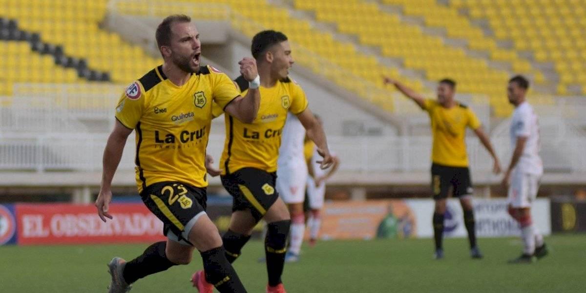 San Luis empató con agónico gol ante Copiapó en partido jugado en plena crisis por coronavirus