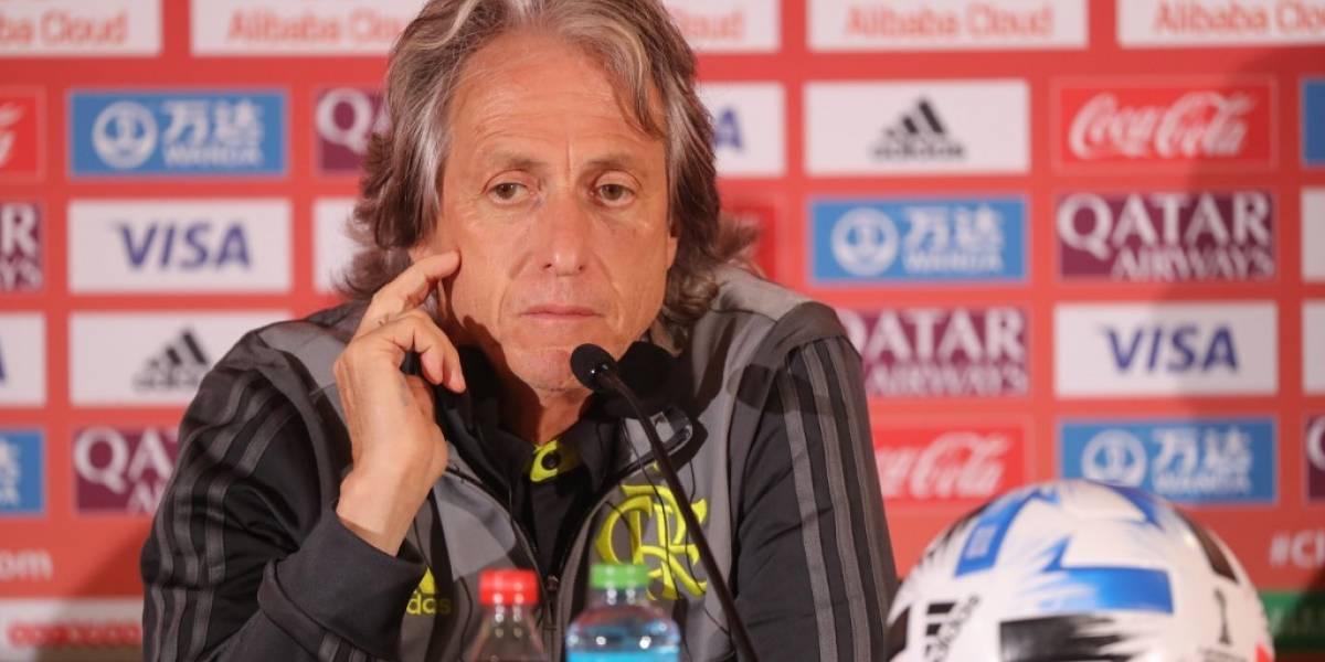 Jorge Jesús, técnico del Flamengo, tiene coronavirus pero está estable