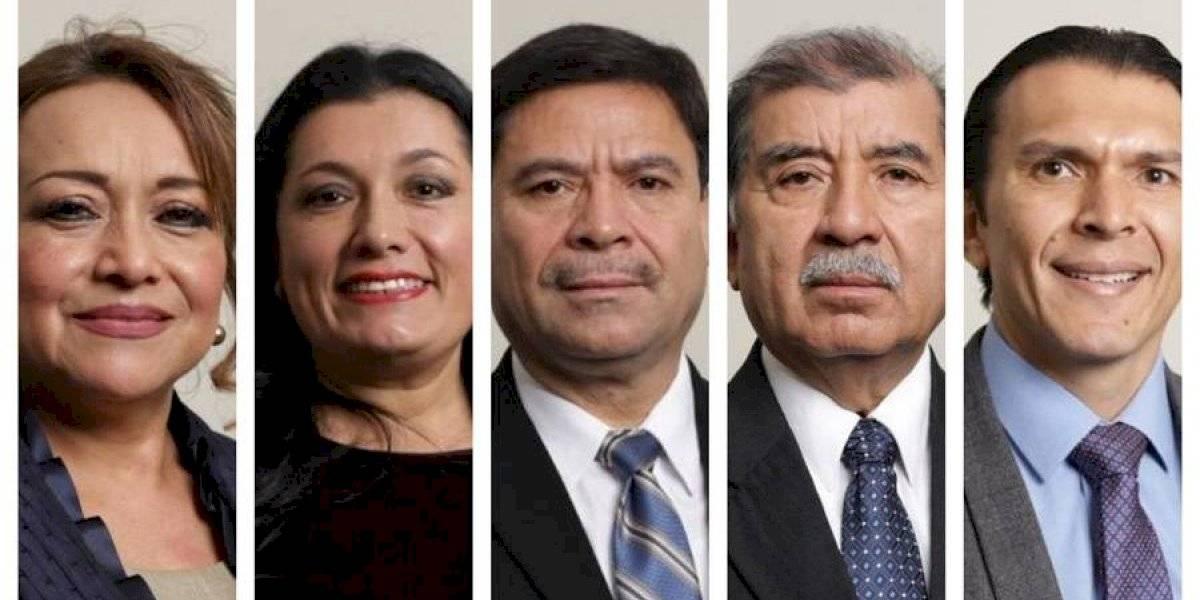Oficializan nombramiento de nuevos magistrados del TSE