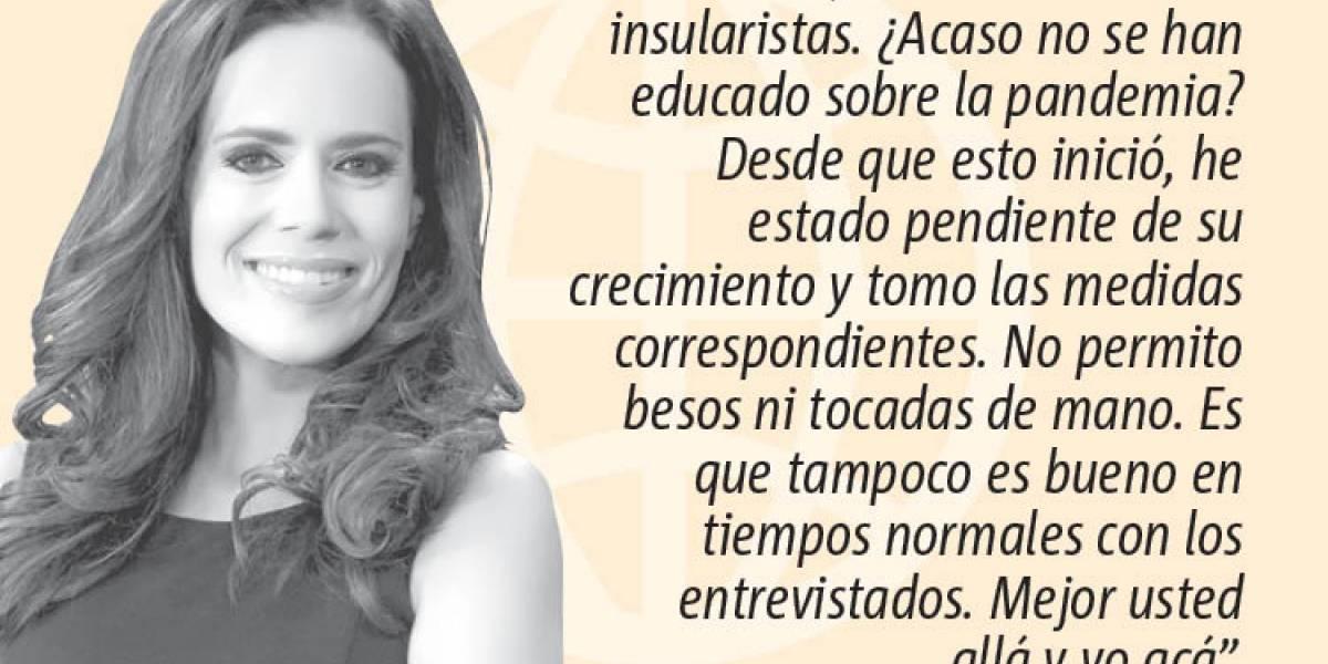 """Opinión de Mariliana Torres: """"Periodistas en cuarentena"""""""