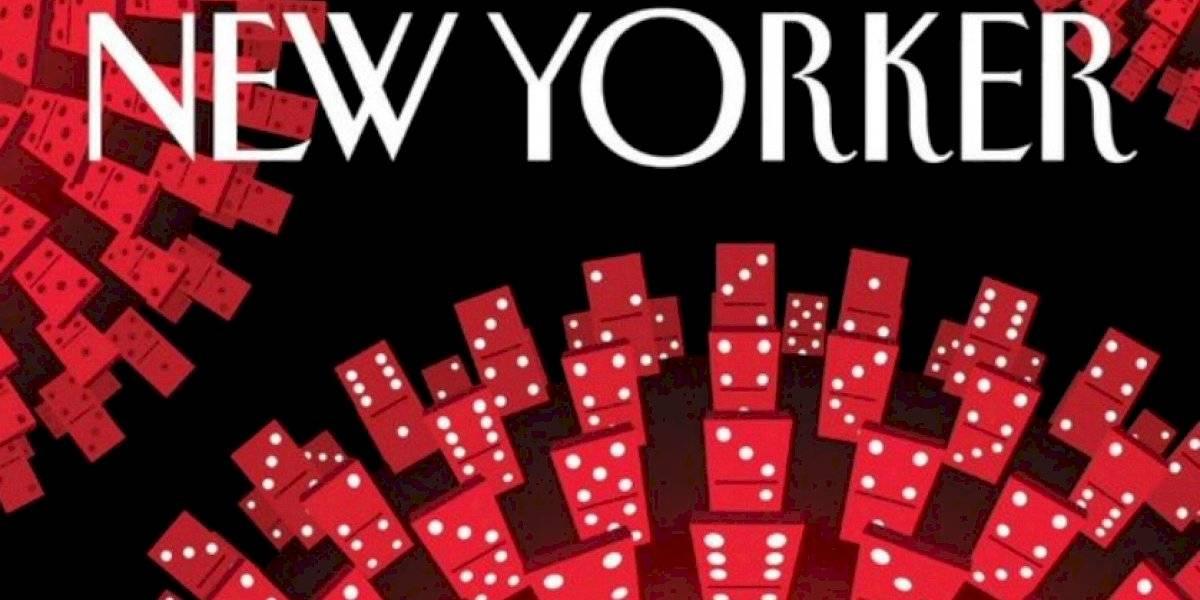 La portada del New Yorker que ejemplifica de gran forma la propagación del coronavirus