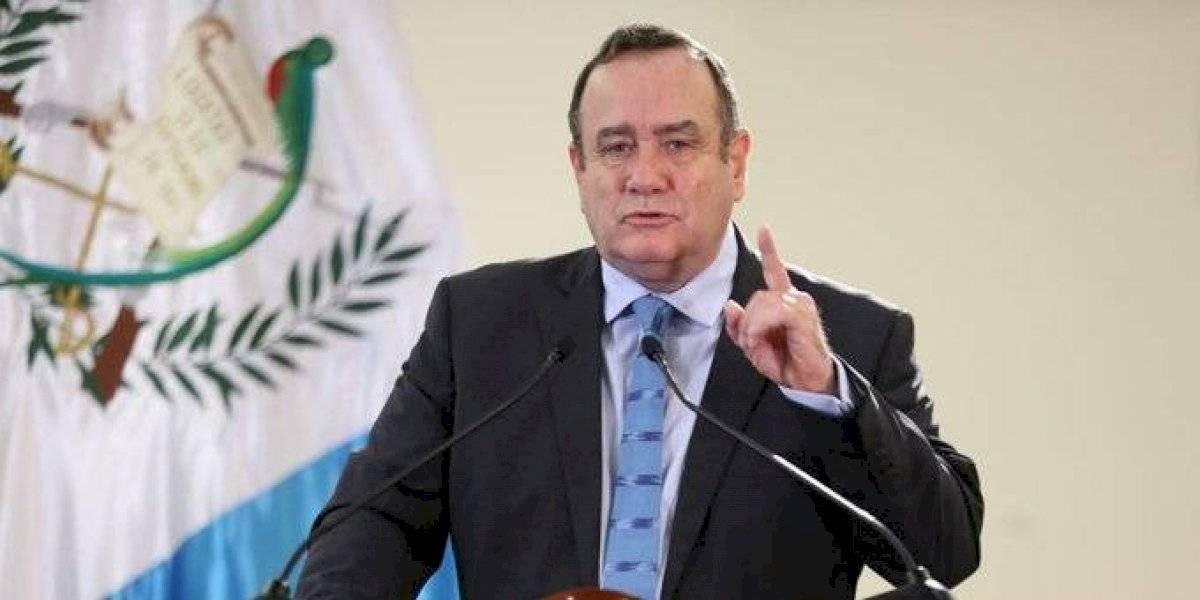 Giammattei insta a guatemaltecos a realizar un día de ayuno