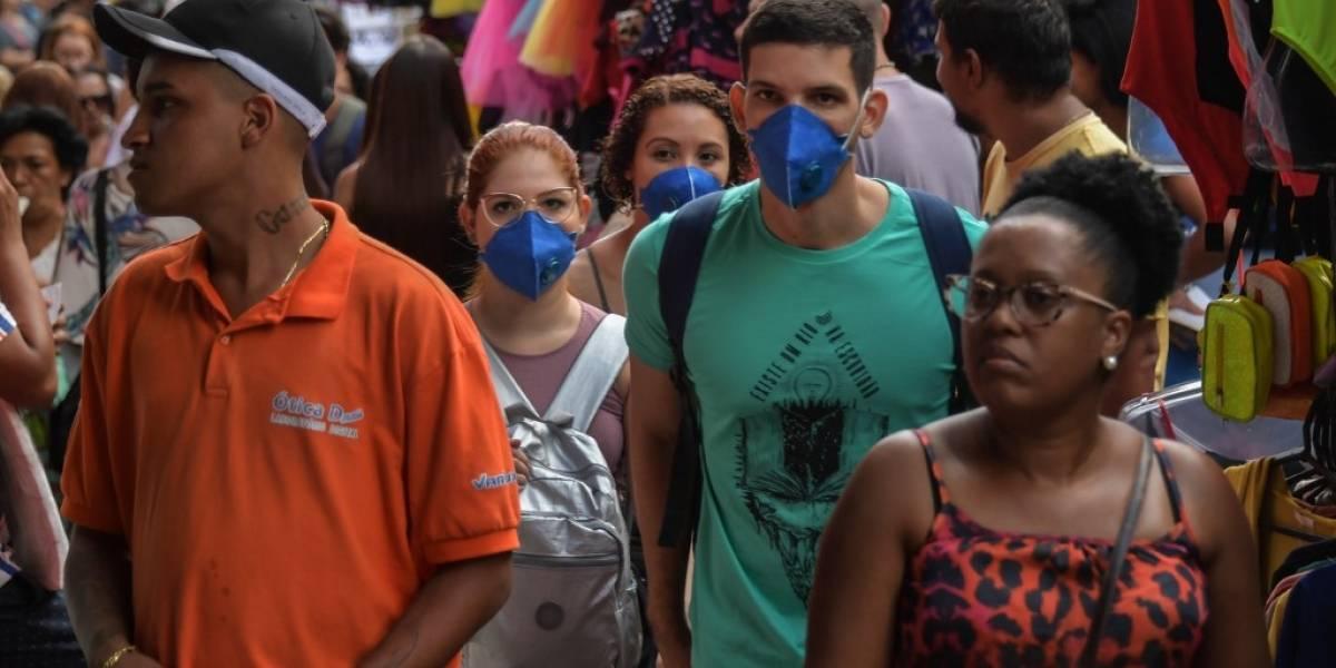 Rio de Janeiro y Sao Paulo declaran estado de emergencia por el coronavirus