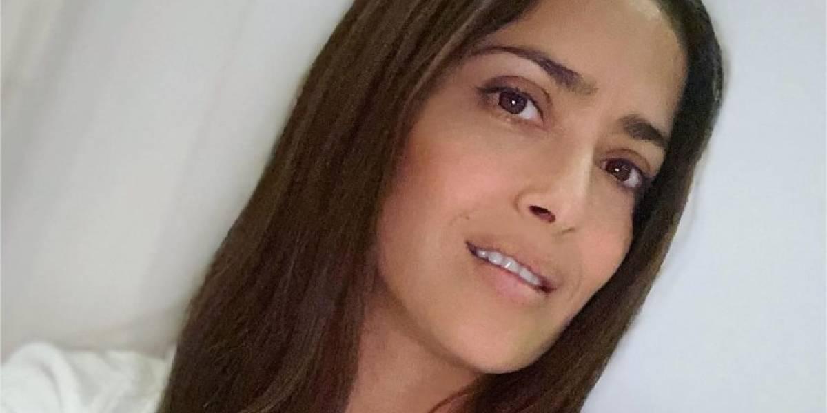 """Salma Hayek envía un mensaje para las personas en cuarentena: """"Estamos en esto juntos"""""""