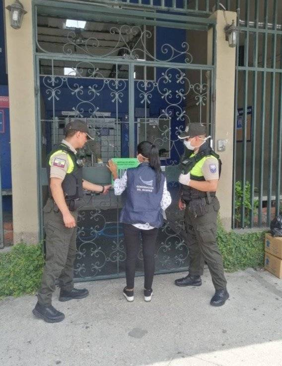 Estado de Excepción: clausuran local con 800 personas que funcionaba como call center en Guayaquil