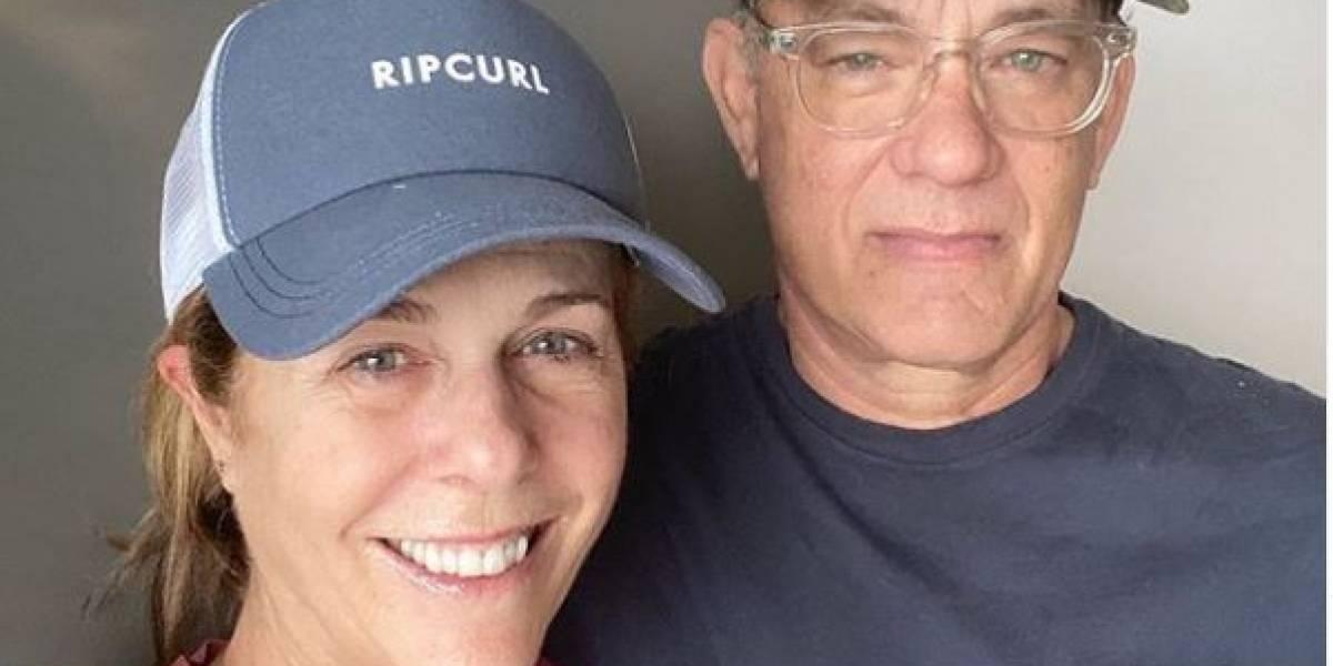 Tom Hanks y su esposa ya salieron del hospital y seguirán en casa la cuarentena por coronavirus