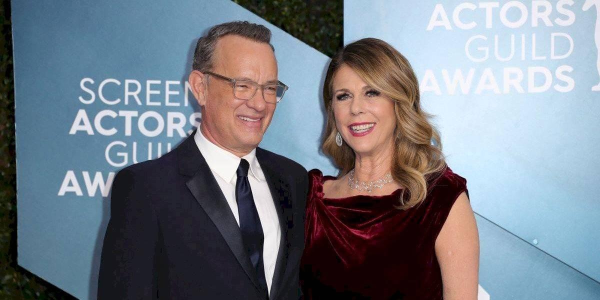 Tom Hanks y su esposa fueron dados de alta tras recuperarse del coronavirus