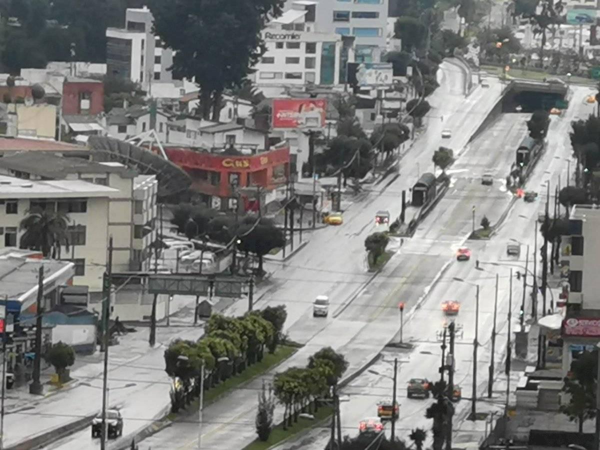 Quito, primer día de cuarentena METRO ECUADOR