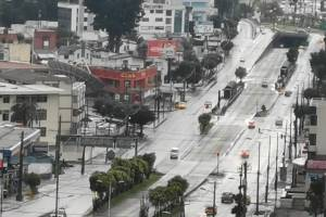 Quito, primer día de cuarentena