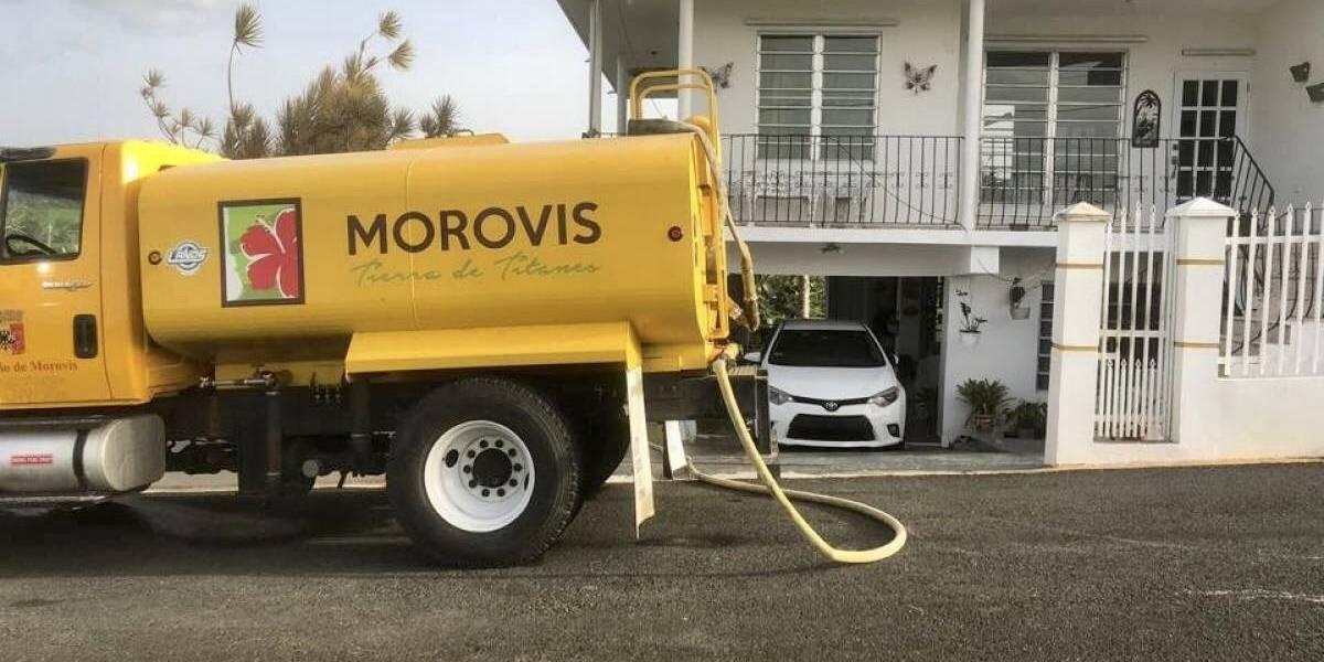 Nuevamente Morovis sin agua en medio de la crisis por coronavirus