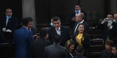 Alejandro Giammattei en Congreso