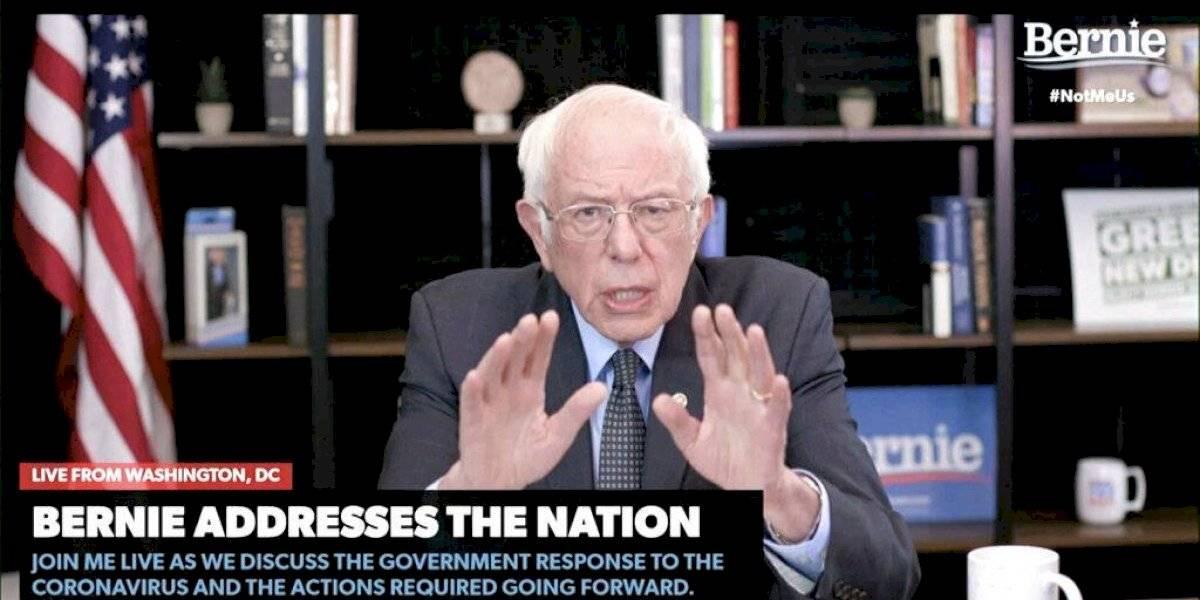 Bernie Sanders evalúa si sigue en la contienda demócrata