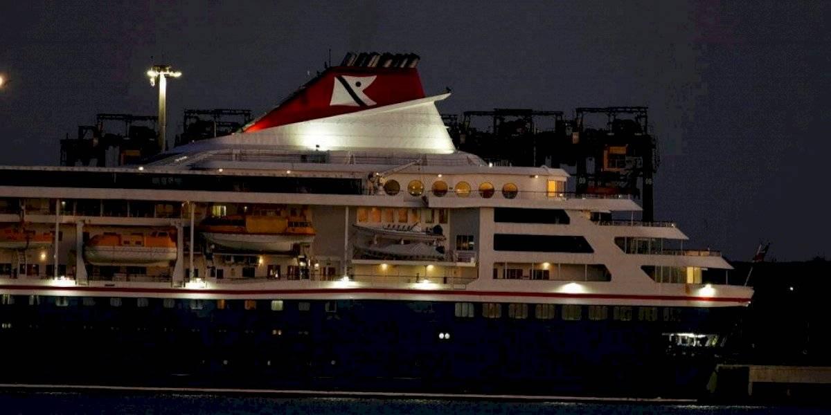 Crucero con contagiados de coronavirus atraca en puerto de Cuba