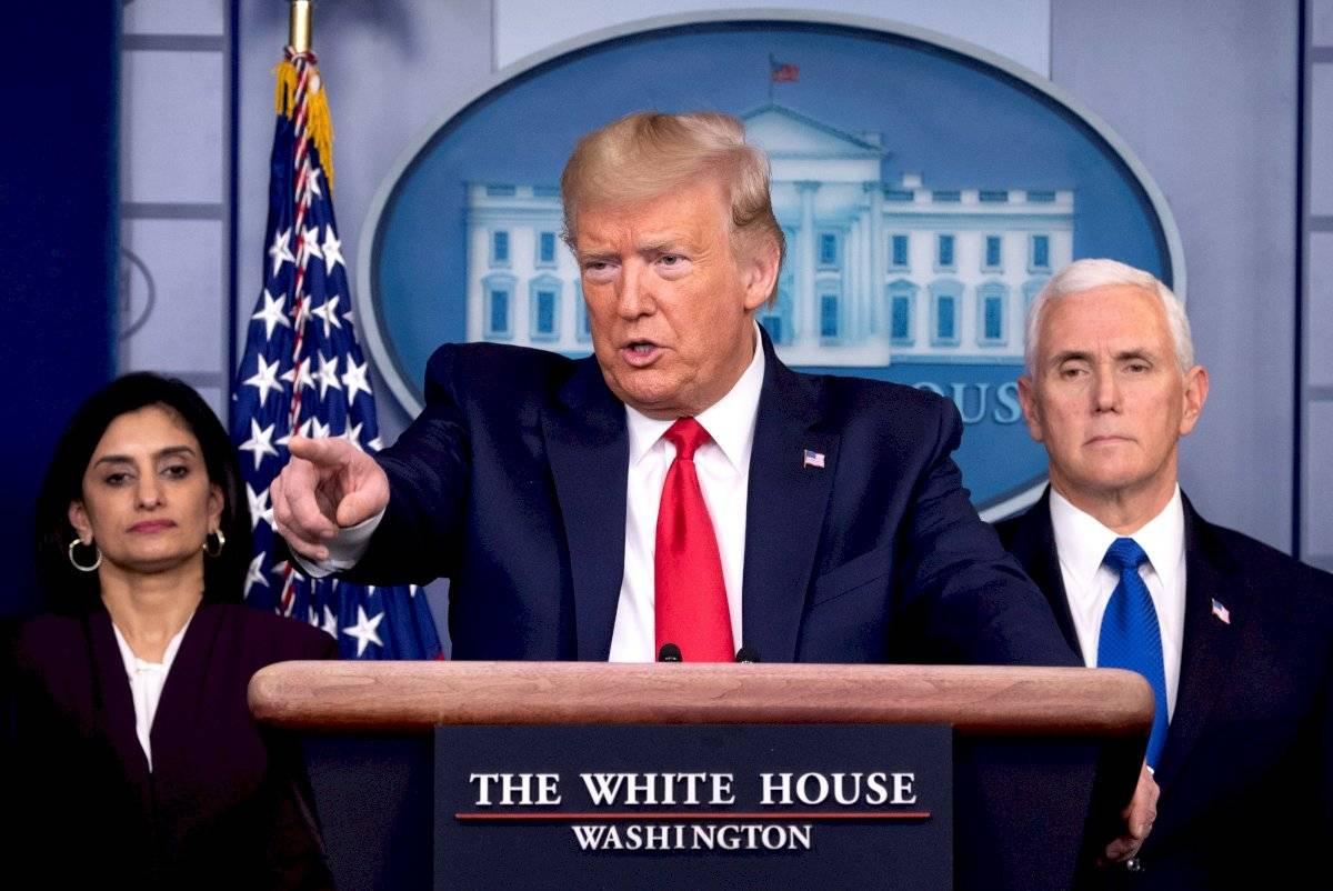 Presidente de Estados Unidos, Donald Trump