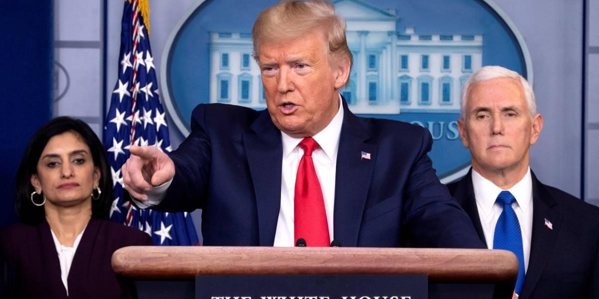 Donald Trump planea expulsar de inmediato a migrantes irregulares por coronavirus