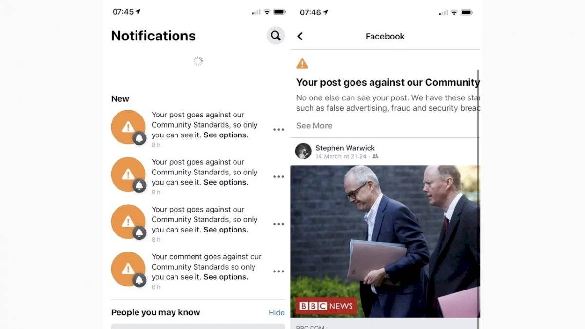 FAke news bot facebook