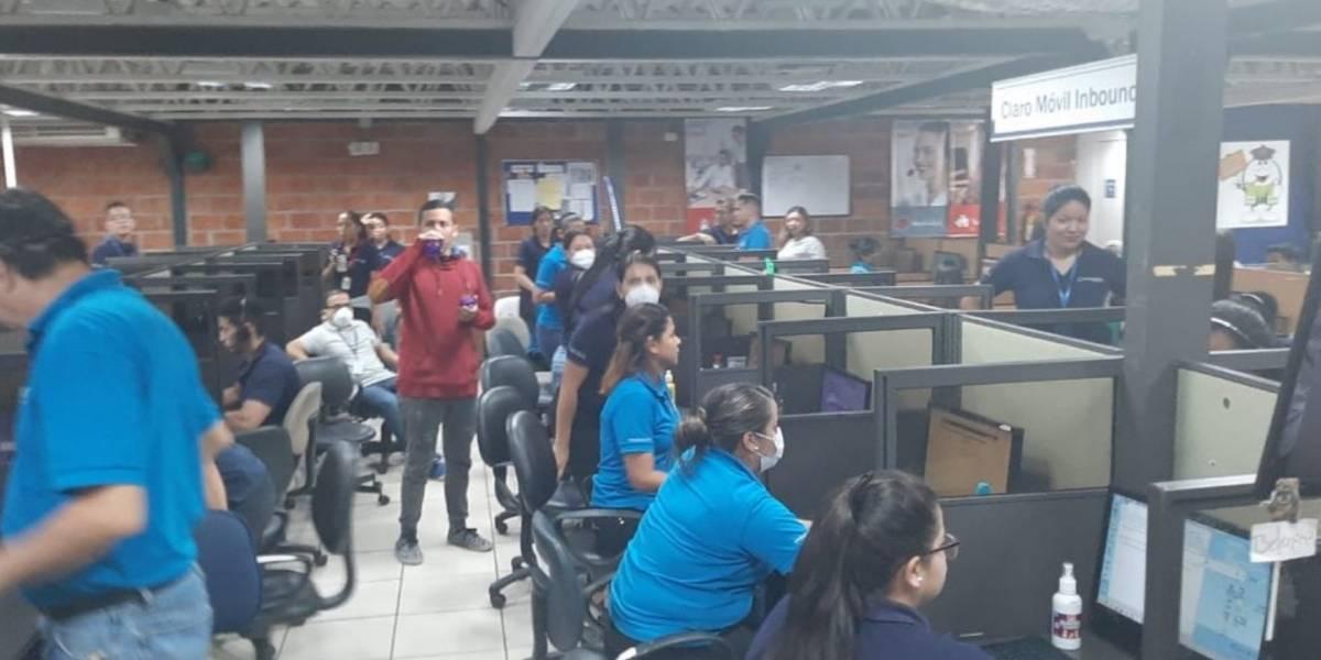 Clausuran call center en Guayaquil con 800 personas