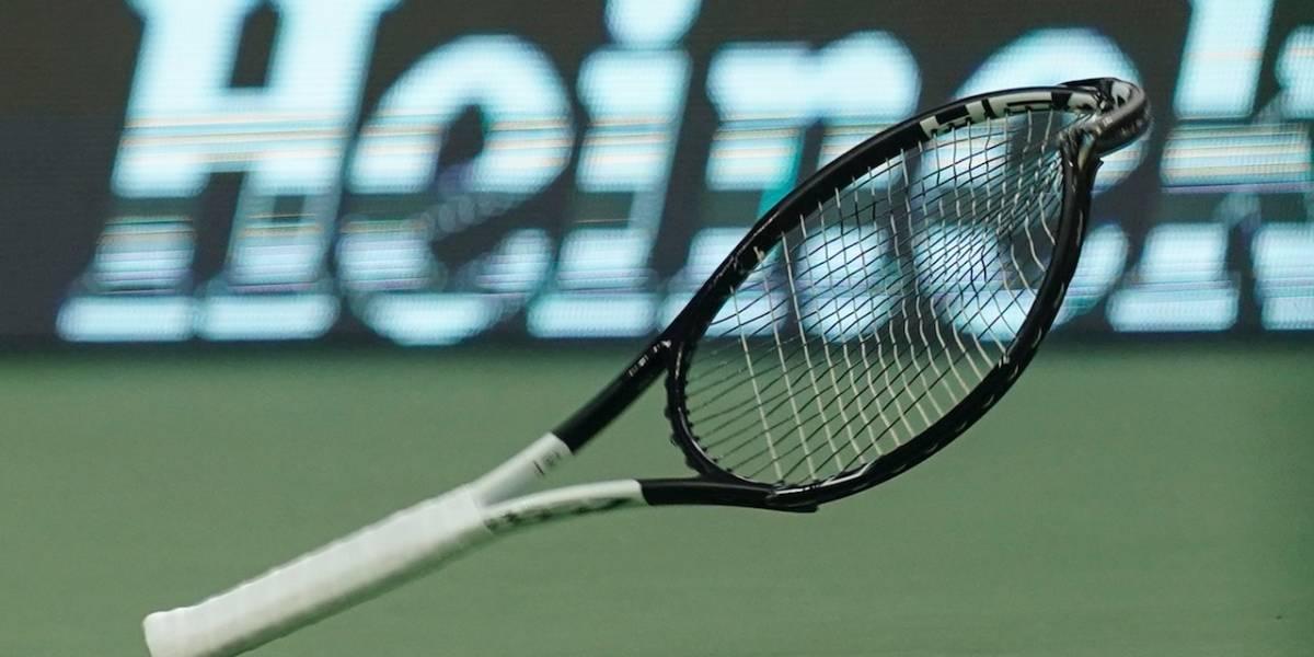 ¡Ya no será hasta abril! Extienden suspensión de la temporada de tenis profesional por coronavirus