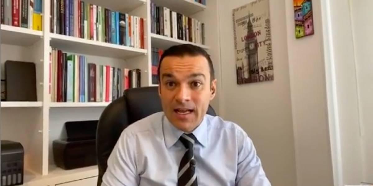 """La emberracada de Juan Diego Alvira con televidente que dijo que trabajaba en """"Noticias Paracol"""""""