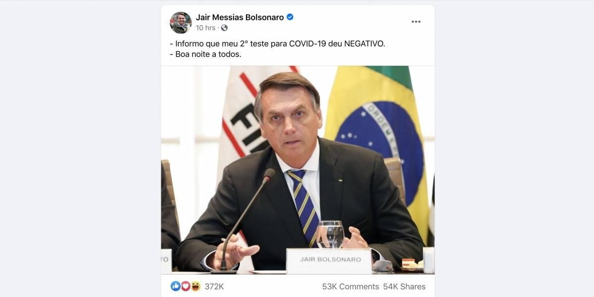 Coronavírus: Bolsonaro se reúne com chefes de poderes para discutir pandemia