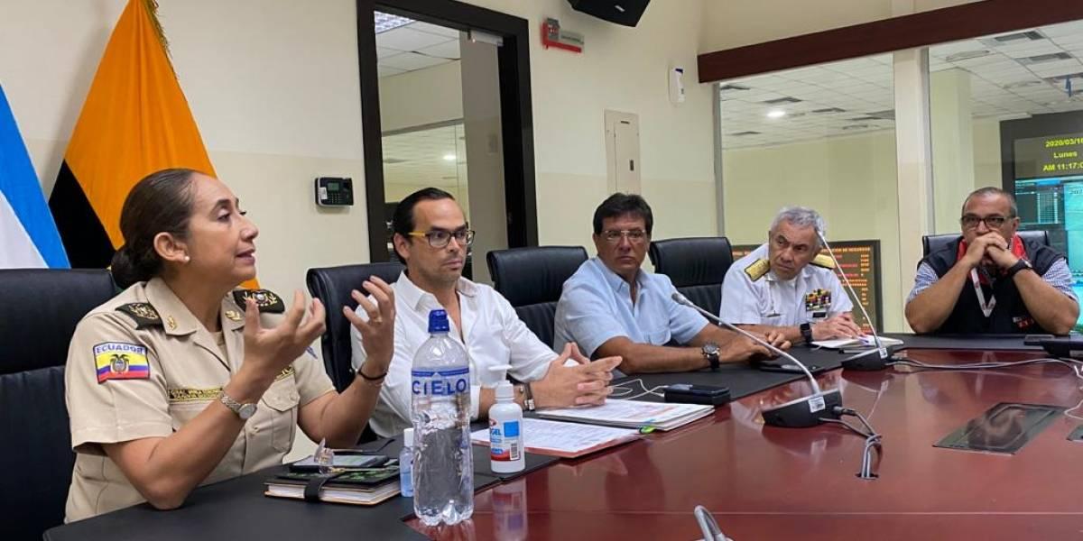 El prefecto Carlos Luis Morales participó en la activación del COE Provincial de Guayas