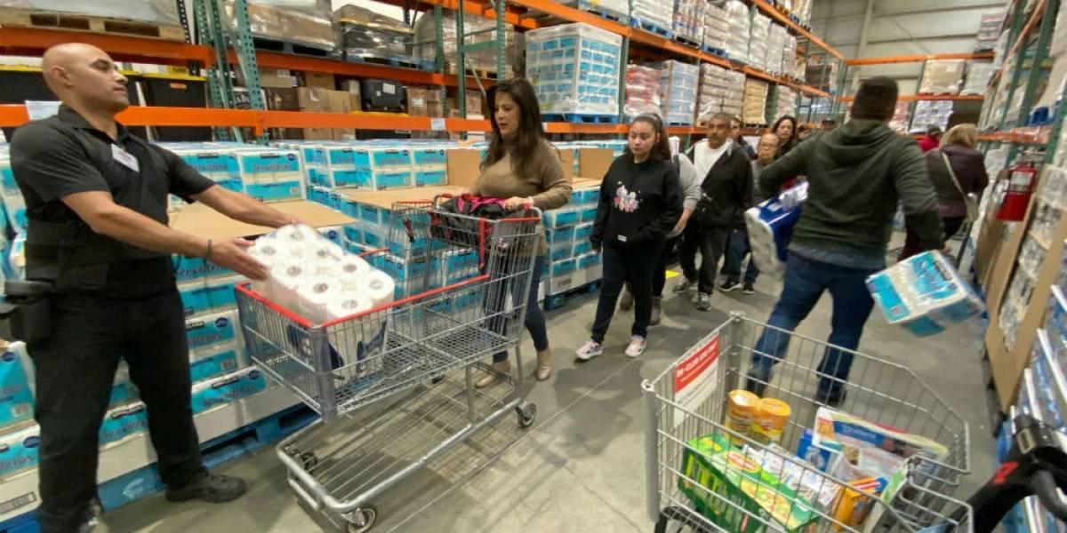 Covid-19 eleva hasta 616% demanda de productos de higiene y enlatados
