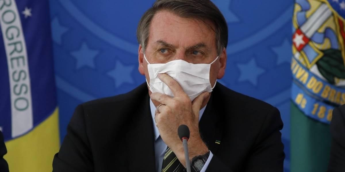 Dos ministros del presidente de Brasil dan positivo de coronavirus