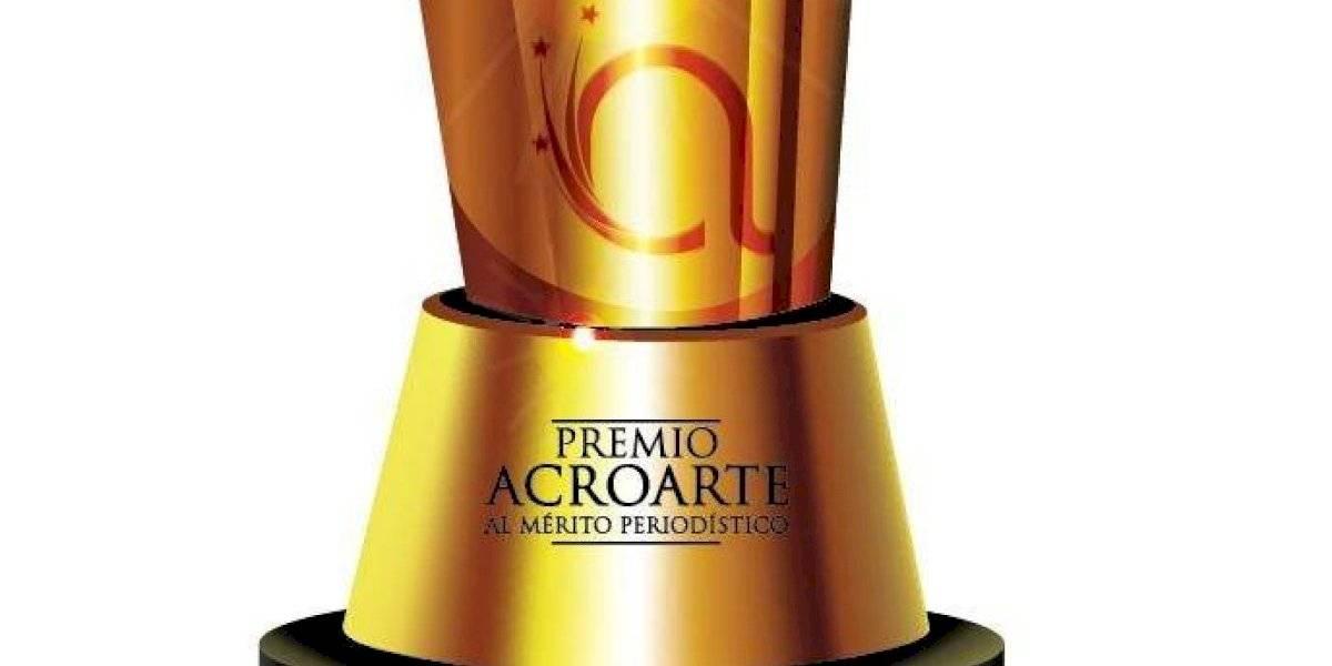 """Acroarte pospone novena entrega """"Premio al Mérito Periodístico"""