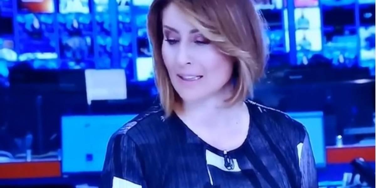 ¡Furiosa! Así se vio a María Lucía Fernández con el presidente ¡en vivo!