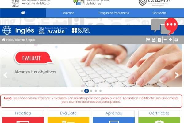 Cuarentena aprendiendo inglés: la UNAM lanza curso gratuito de idiomas |  Publimetro México