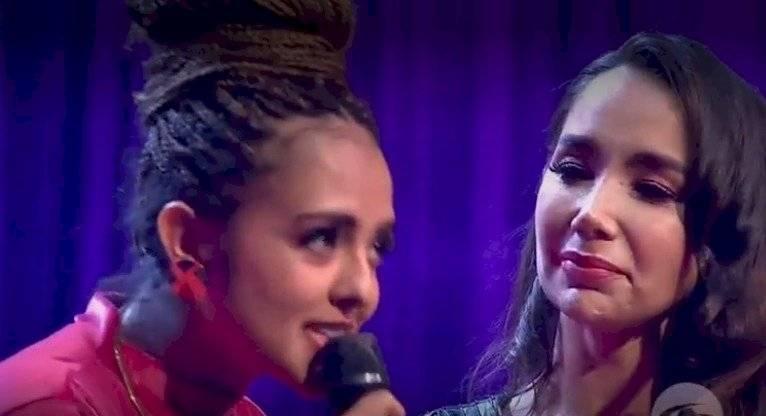 Paola Jara lloró en A otro nivel